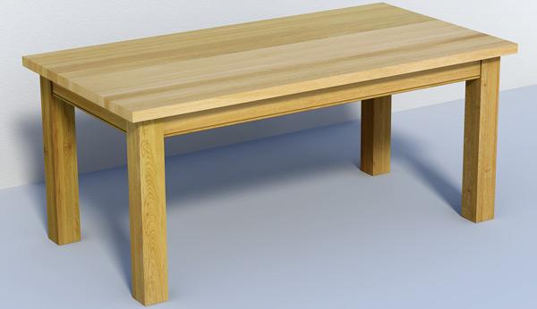 Licht Eiken Eettafel : Zelf tafel maken blank eiken modern ontwerp beautiful steigerhout