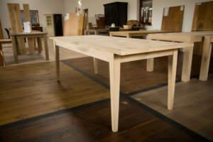 Eiken tafels; massieve eiken tafels goedkoper kan niet